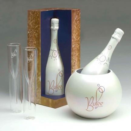 Bulee Champagne Packaging