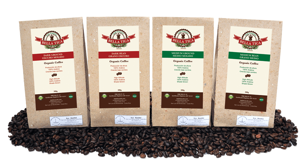 Cafe Bella Tica Coffee Bean Selection